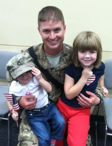 A Soldier's Welcome Home!
