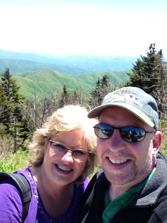 jim and me on mountain