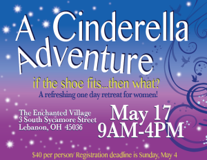 Cinderella adventure with info