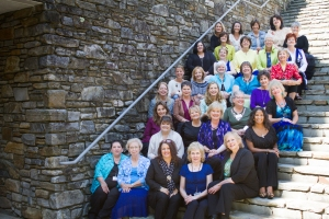Thirty beautiful women speaking for God...Christian Communicators Conference, 2014.